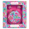 Lilly Pulitzer Trippin' and Sippin' Earbuds with Pouch