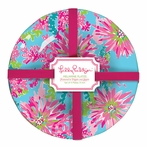 Lilly Pulitzer Trippin' and Sippin' Melamine Plate Set