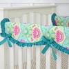 Lily Pad Crib Rail Cover