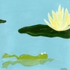 Lily Pad Pond II Canvas Reproduction