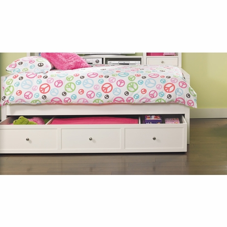 Lily Panel Bed with Colors Footboard