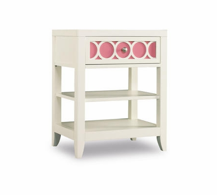 Lily Storage Bed with Colors Footboard