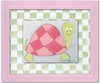 Lily Turtle Personalized Framed Canvas Reproduction