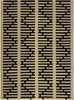 Lima Geo Bold Flatweave Rug in Yellow