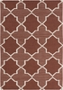 Lima Stars Flatweave Rug in Brown