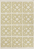 Lima Tiles Flatweave Rug in Yellow