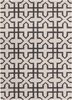 Lima X Marks the Spot Flatweave Rug in Gray
