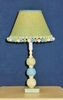 Lime And Aqua Lemon Twist Lamp