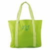 Lime Green Personalized Tote Bag