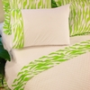 Lime Green Zebra Sheet Set