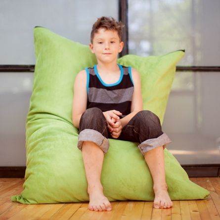 Lime Junior Pillow Saxx Bean Bag