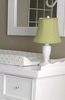 Lime Linen Childtop Urn Lamp