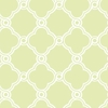 Lime Open Trellis Wallpaper