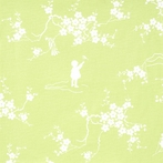 Lime Pagoda Fabric by the Yard