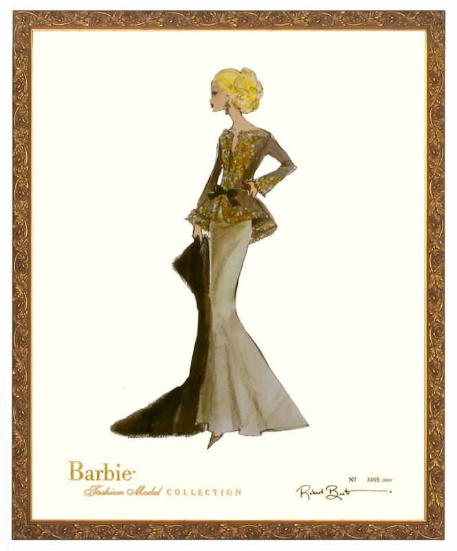 Barbie Art Prints Capucine Barbie Art Print
