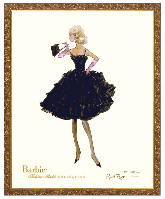 Barbie Art Prints Barbie Art Print