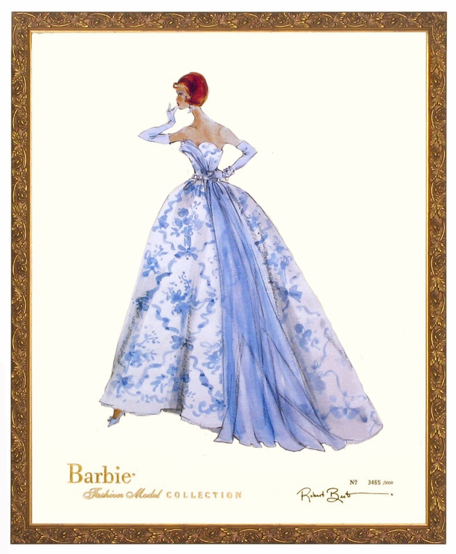 Barbie Art Print Barbie Art Print