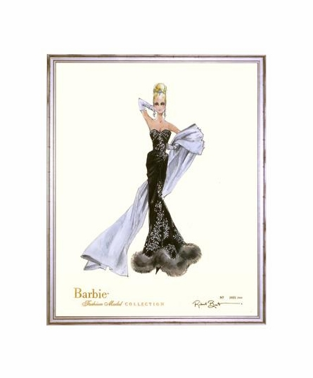 Limited Edition Stolen Magic Barbie Art Print