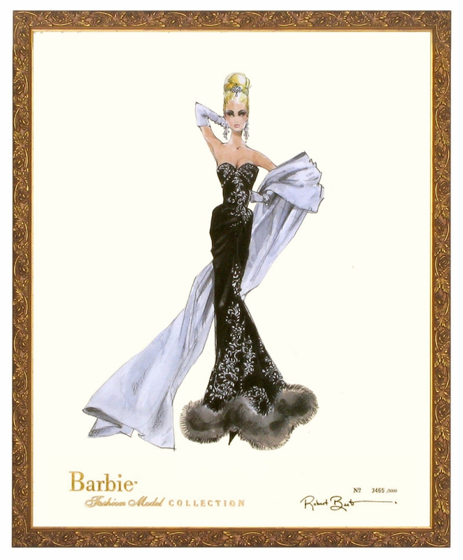 Barbie Art Print Magic Barbie Art Print