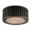 Linden Flush Mount In Oil Rubbed Bronze