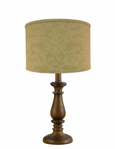 Linen Damask Lamp Shade