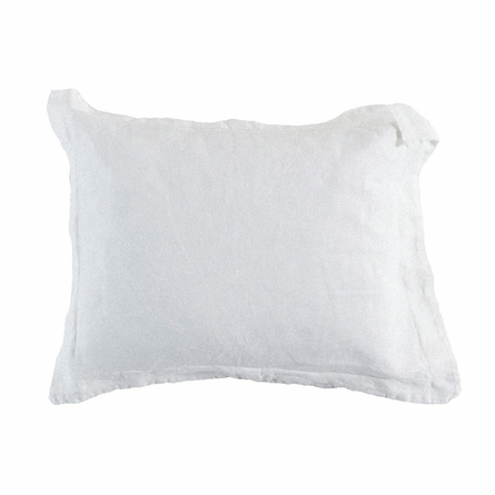Linen Pillow Sham with Self Flange