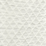 Linen Quilted White (01)
