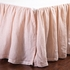 Linen Voile Crib Skirt
