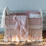 Linen Whisper 3-Piece Crib Bedding Set