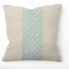 Link Turquoise Embroidery Throw Pillow