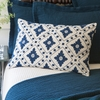 Linnea Indigo Accent Pillow