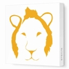 Lion Face Canvas Wall Art