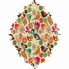 Little Birds Baroque Wall Clock
