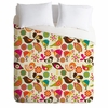Little Birds Luxe Duvet Cover
