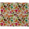 Little Birds Fleece Throw Blanket