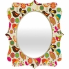 Little Birds Quatrefoil Mirror