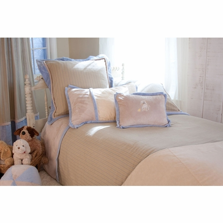 Little Buddy Blue 3 Piece Custom Bedding Set