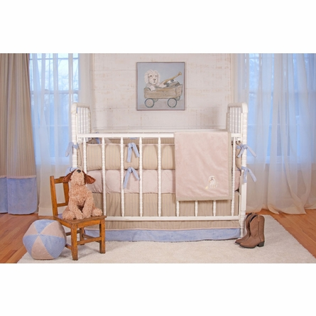 Little Buddy Blue Custom Crib Bedding Set