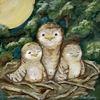 Little Dreamer Winkin Blinkin and Nod Canvas Reproduction