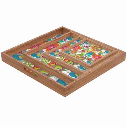 Little Elephants Square Tray