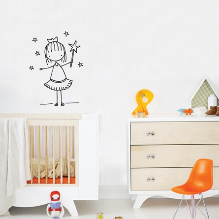 Little Fairy Wall Decal