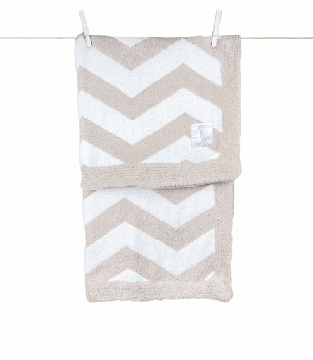 Little Giraffe Dolce Chevron Receiving Blanket