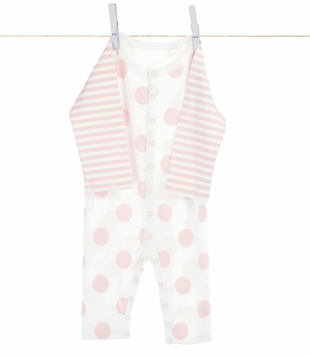 Little Giraffe Lollipop Henley Romper