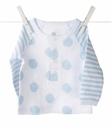 Little Giraffe Lollipop Henley Shirt