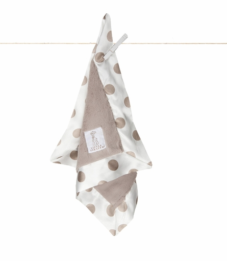 Little Giraffe Luxe New Dot Security Blanky
