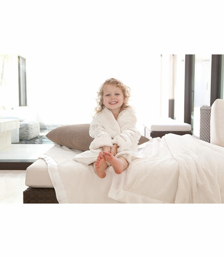Little Giraffe Luxe Satin Kids Robe