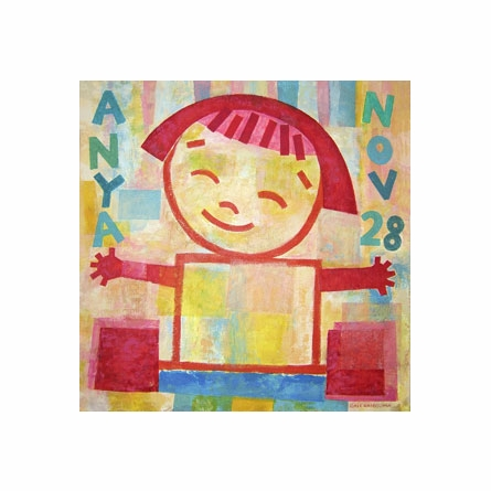 Little Girl Canvas Wall Art