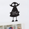 Little Girl Chalkboard Wall Decal