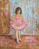 Little Girl Love Canvas Reproduction