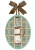 Little Golfer Bag Wall Plaque